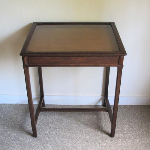 Oak Museum Cabinet C.1920 (1 of 5)