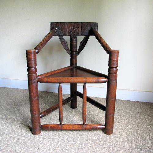 Oak Turners Chair c.1880 (1 of 5)
