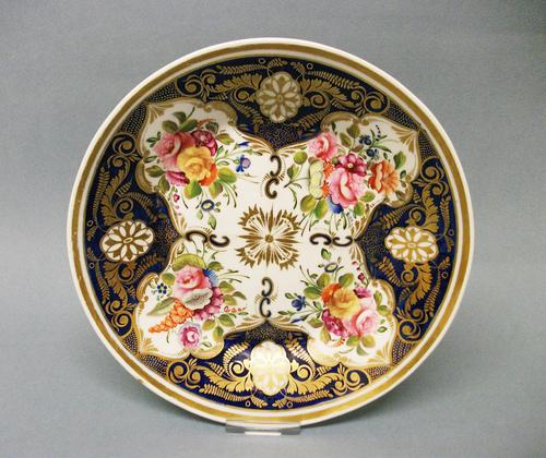 Superb New Hall Saucer Dish c.1815 (1 of 7)