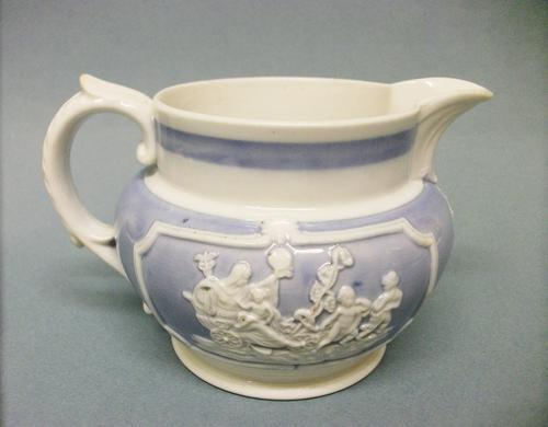 Delightful, Small Jug with Applied Moulded Decoration C.1820 (1 of 6)