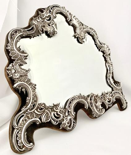William Comyns Silver Dressing Table Mirror (1 of 1)