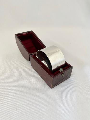 Good Quality Sterling Silver Napkin Ring 1915 (1 of 6)