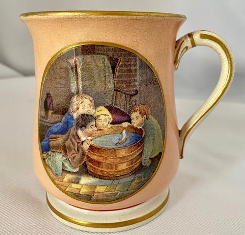 Prattware Mug c.1860 (1 of 6)