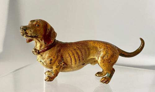 Cold Painted Miniature Dachshund (1 of 8)