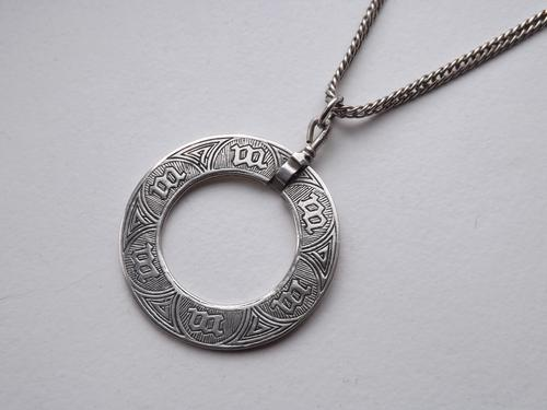 Antique Sterling Silver Alexander Ritchie Iona Marriage Pendant & Chain - c.1920 (1 of 1)