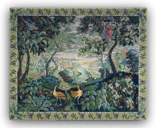 19th Century Needlework Tapestry (1 of 2)