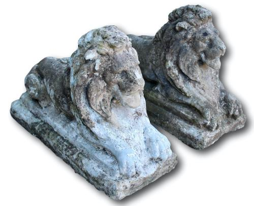 Pair of Stone Lions (1 of 5)