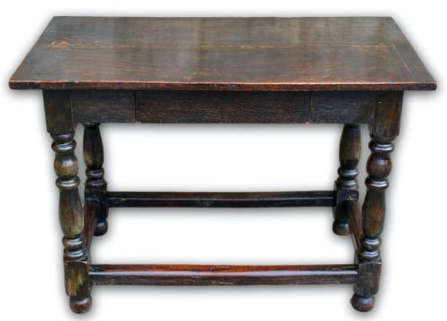 18th Century Oak Centre Table (1 of 5)