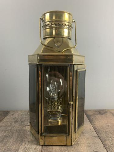 Victorian Ships Lantern, Wall Light, Table Lamp, Rewired (1 of 10)