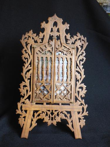Fretwork Easel Picture Frame From Sorrento (1 of 8)
