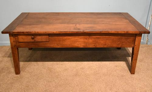 French Cherrywood Coffee Table c.1850 (1 of 7)