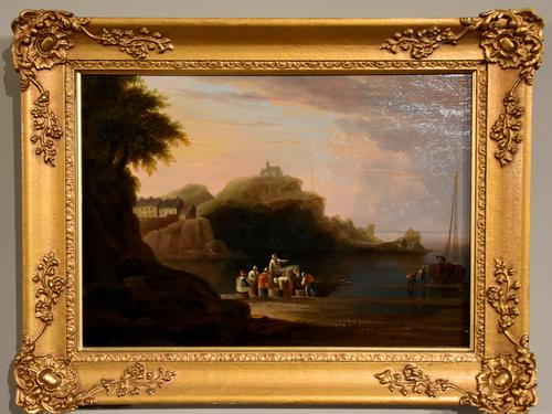 "Oil Painting by John Wallace Tucker ""Ilfracombe"" (1 of 5)"