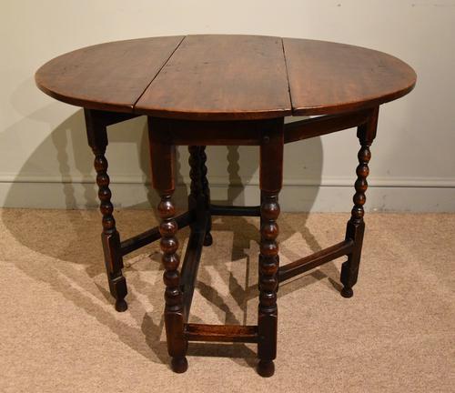 17th Century Elm Gateleg Table (1 of 5)