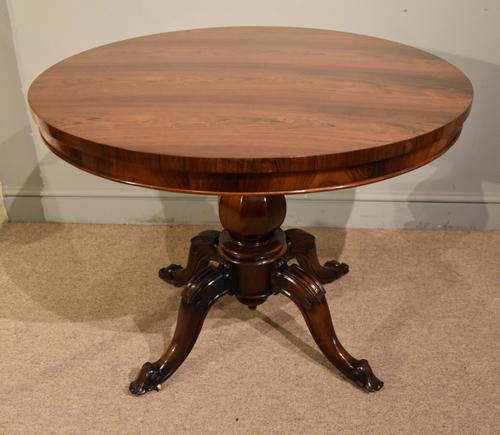 Rosewood Centre Dining Table 19th Century (1 of 6)