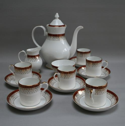 Royal Grafton Bone China Coffee Set in the Majestic Design (1 of 6)