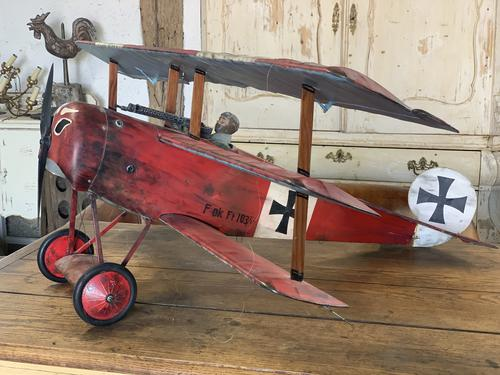 Scatch Built Red Baron's Triplane (1 of 8)