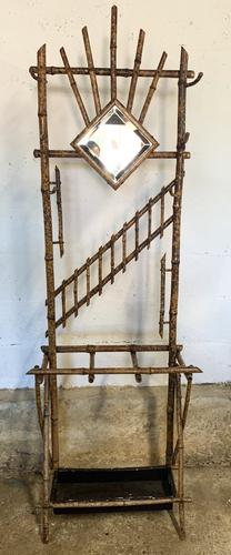 Antique Bamboo Hall Coat Stand (1 of 4)