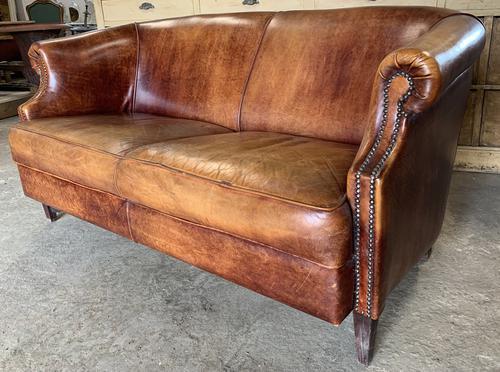 Vintage Dutch Leather Sofa (1 of 7)
