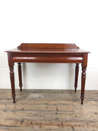 Antique Victorian Mahogany Console Table (1 of 11)