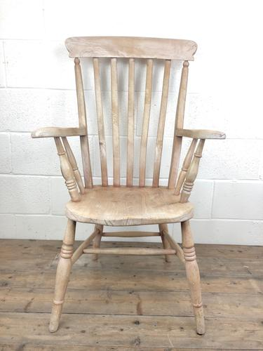 Antique 19th Century Ash & Elm Windsor Armchair (1 of 12)