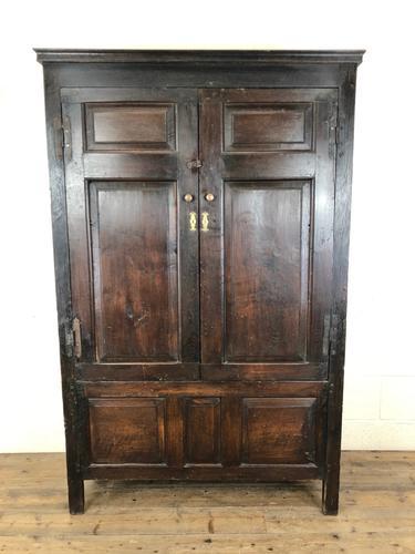 17th Century Joined Oak Cupboard (1 of 12)