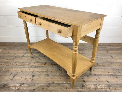 19th Century Pine Washstand with Drawers (1 of 11)