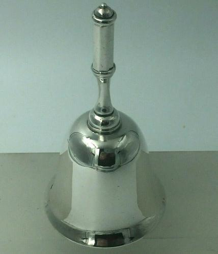 Heavy Gauge Edinburgh Silver Table Bell 1907 Hamilton & Inches (1 of 8)