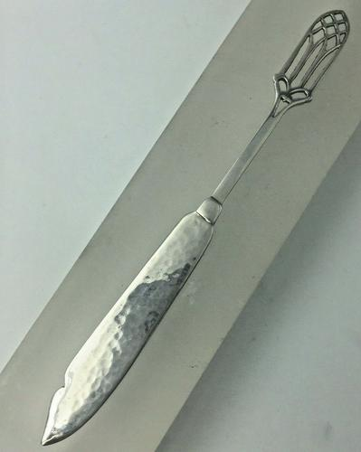 Hand Made Silver Letter Opener by Sibyl Dunlop London 1927 (1 of 5)