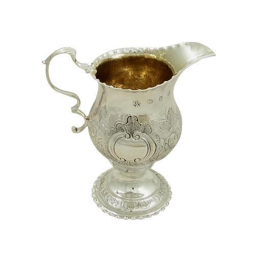 Antique Georgian Sterling Silver Cream Jug 1781 (1 of 10)