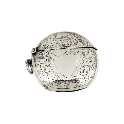 Antique Edwardian Sterling Silver Vesta 1907 (1 of 8)