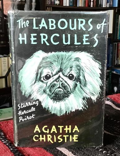 1948 the Labours of Hercules by Agatha Christie 1st Australian Ed & Dust Jacket (1 of 7)