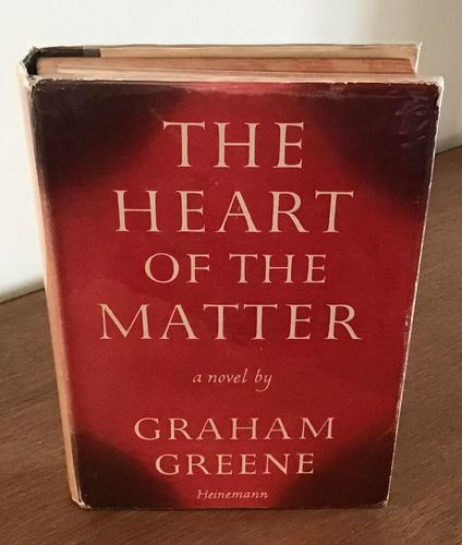 1948 the Heart of the Matter by Graham Greene 1st UK Edition (1 of 6)