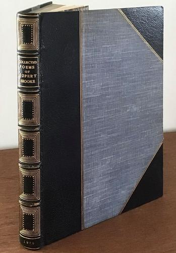 The Collected Poems of Rupert Brooke, 1919, Limited Edition (1 of 5)