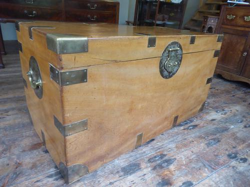 Large Chinese Camphor Wood Trunk (1 of 9)
