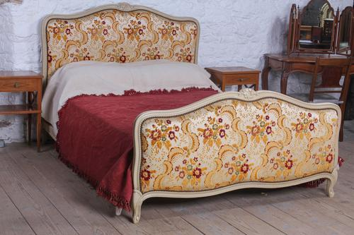 All Original French Louis XV Style Double Bed (1 of 7)