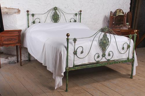 Very Lovely Early Victorian King Size Bedstead (1 of 13)