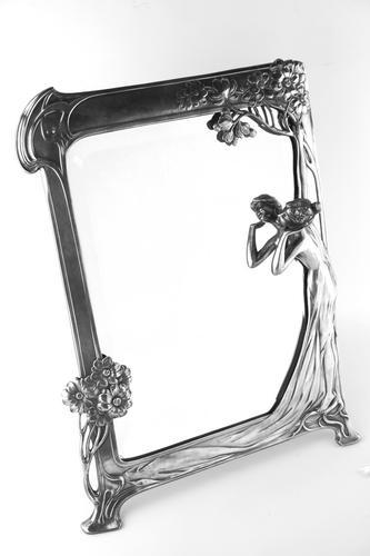 Superb Wmf 'Echo' Toilet Easel Mirror (1 of 6)
