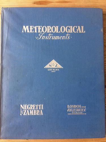 Negretti & Zambra London Standard Meteorological Instruments (1 of 1)