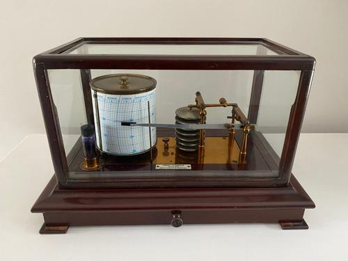 Rare Two Weekly Barograph by Dobbie Mcinnes (1 of 4)