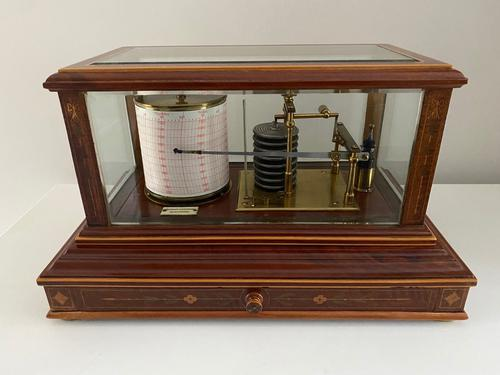 Magnificent Barograph, Manchester c.1900 (1 of 5)