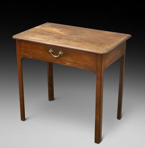 George III Mahogany Side Table (1 of 6)
