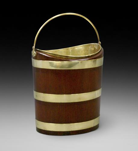 Dutch Mahogany & Brass Bucket (1 of 6)