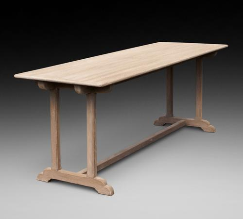 Arts & Crafts Oak Refectory Table (1 of 5)