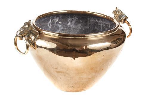 Quality Antique Brass Jardiniere c.1880 (1 of 5)