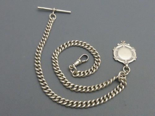 Silver Albert Chain (1 of 8)