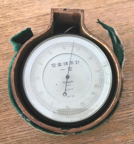 19th Century Japanese Barometer (1 of 26)