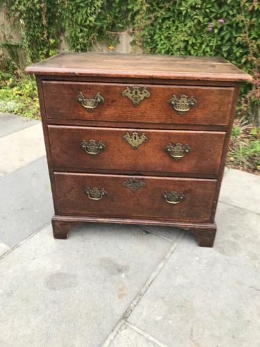George III Oak Chest of Drawers (1 of 11)