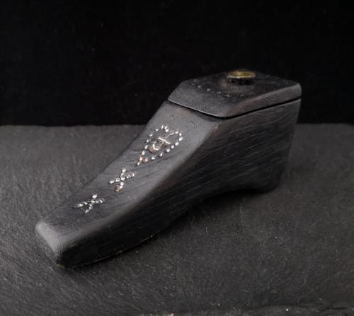 Antique Victorian Boot Snuff Box (1 of 11)