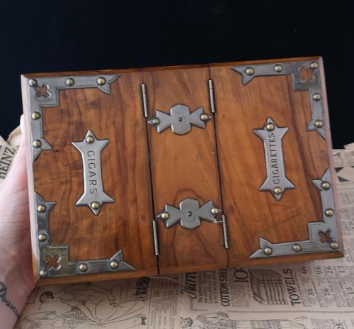 Antique Cigar / Cigarette Box, 19th Century (1 of 12)