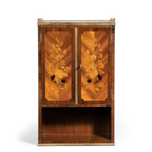 French Rosewood Wall Cabinet by G Durand (1 of 9)